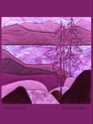 Fuchsia Landscape